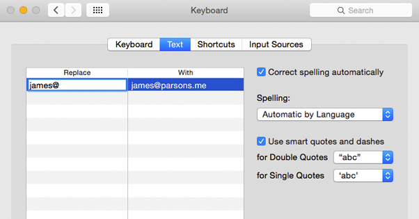Email Shortcut