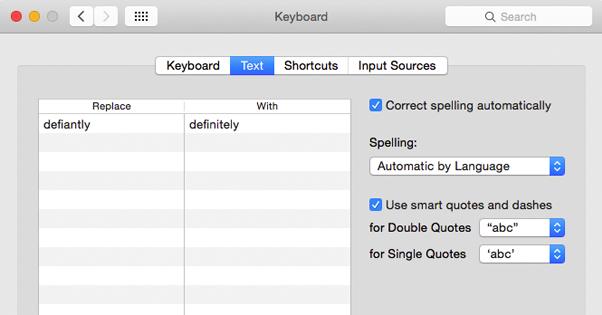 Typo Correction Text Expansion