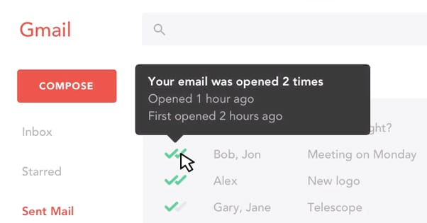 MailTrack Homepage