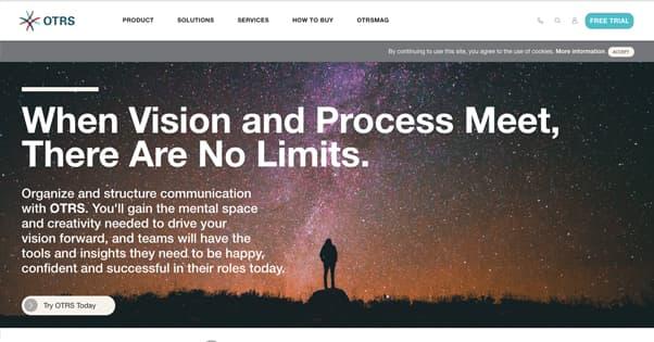 OTRS Homepage