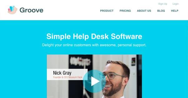 Groove Homepage