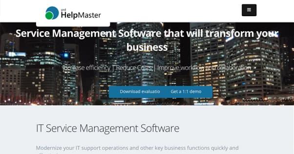 Helpmaster Site