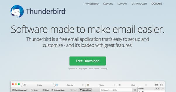 Thunderbird Client