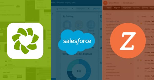 ZenDesk Salesforce Zoho