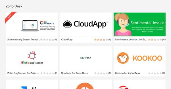 Zoho Desk Apps
