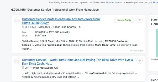 Customer Service Jobs on Ziprecruiter