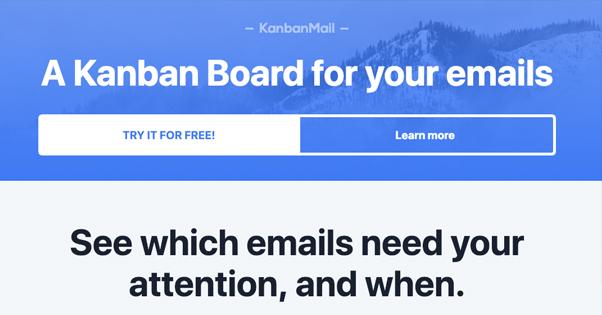 Kanban Homepage