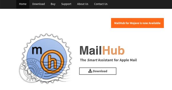 Mailhub Homepage