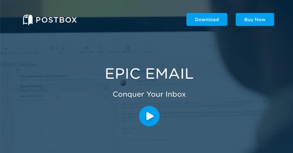 Postbox App Homepage