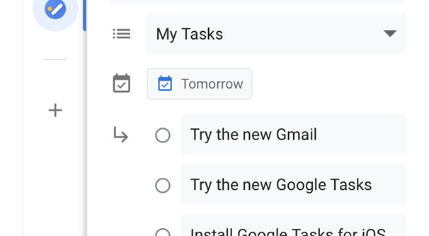 My Tasks in Email