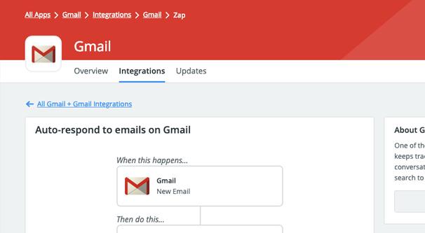 Zapier Gmail Autoresponder