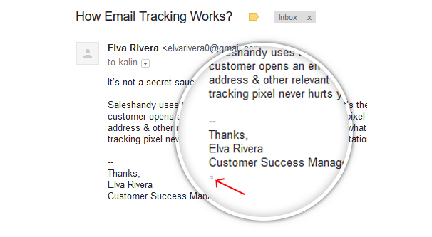 Email Tracking Pixel