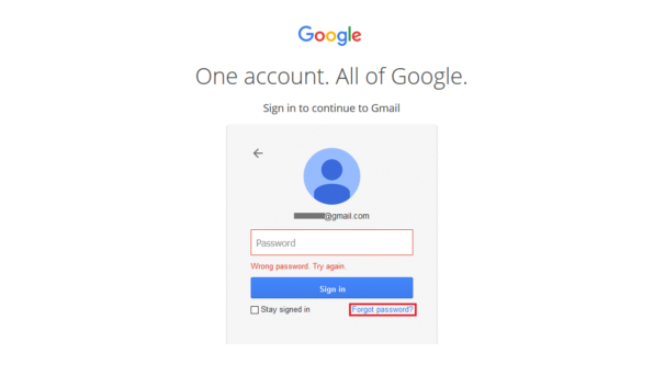 Gmail Pass Not Working