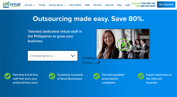 Example Virtual Assistant Service