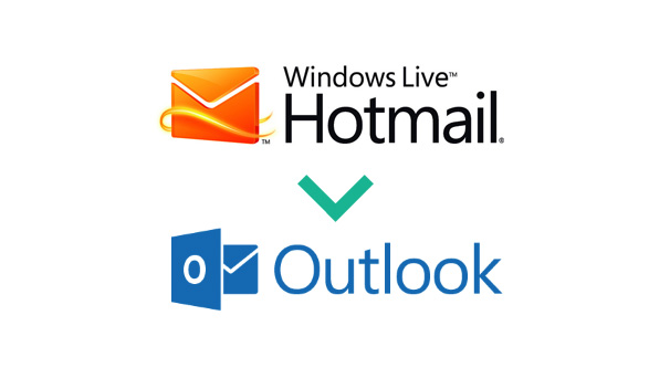 Hotmail to Outlook