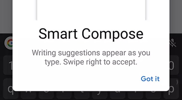 Smart Compose Illustration